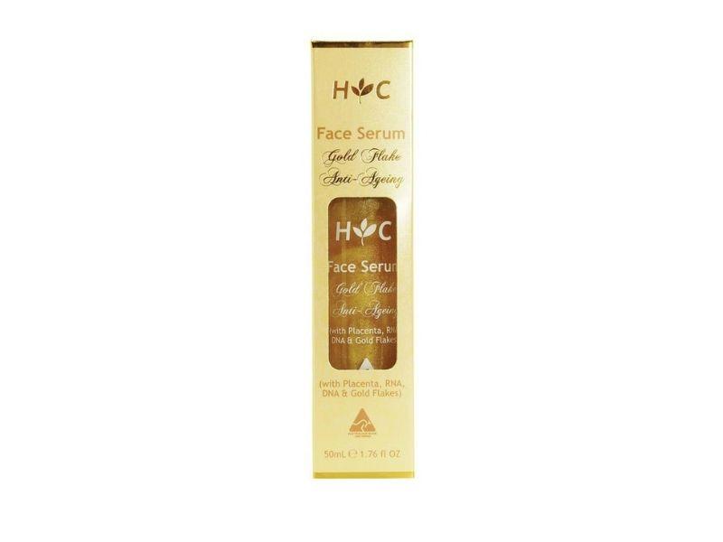 Sản phẩm serum Anti Ageing Gold Flake Face thích ứng với mọi loại da