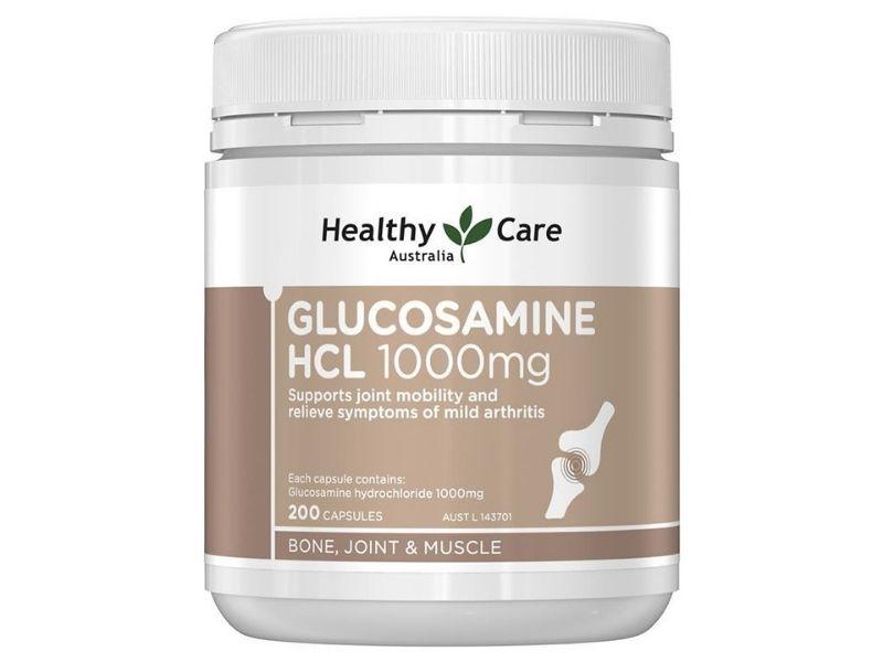 Sản phẩm Healthy Care Glucosamine HCL 1000mg