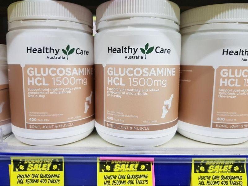 Người dị ứng hải sản không nên bổ sung Glucosamine