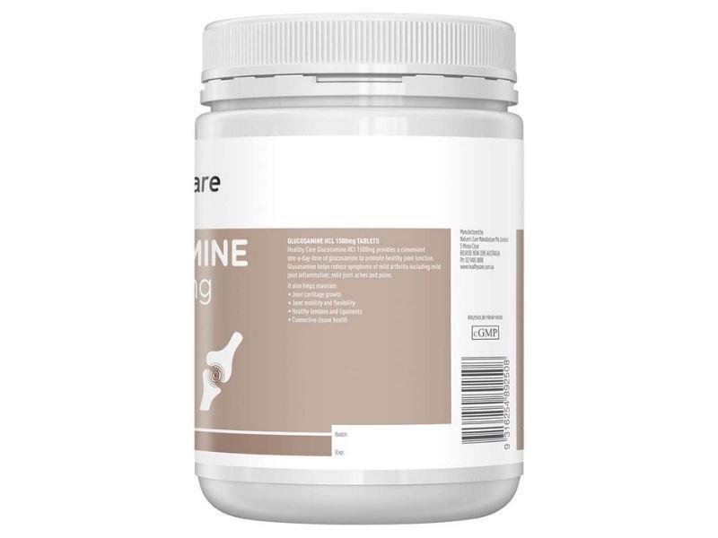 Thành phần chính của sản phẩm là glucosamine