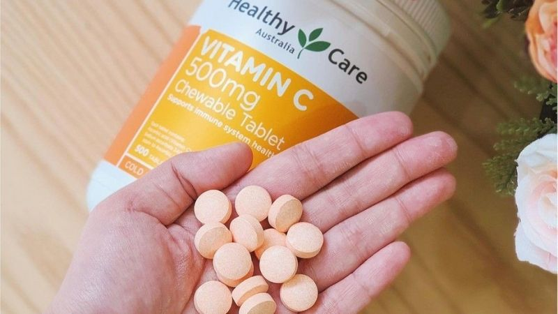Healthy Care Vitamin C 500mg