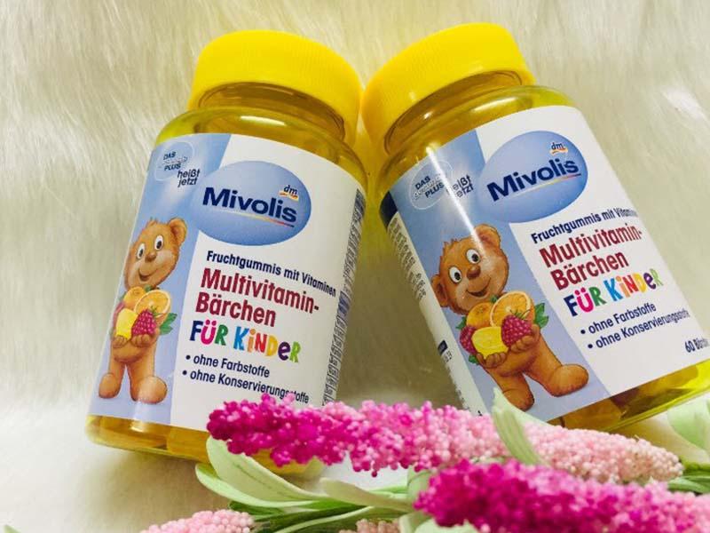 Kẹo gấu Mivolis Multivitamin Barchen có xuất xứ từ Đức
