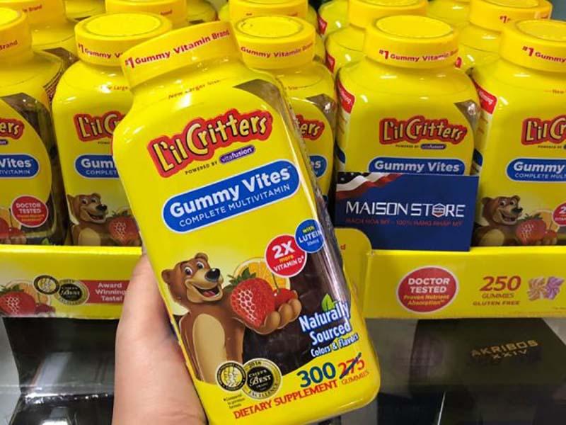 Kẹo Gummy Vites được dùng cho trẻ biếng ăn, hấp thu kém