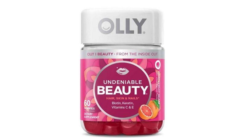 Kẹo dẻo đẹp da móng tóc Olly Undeniable Beauty Gummy 60 viên