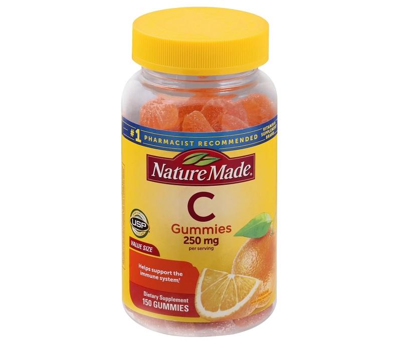 Nature Made Adult Gummies Vitamin C có hương vị trái cây thơm ngon