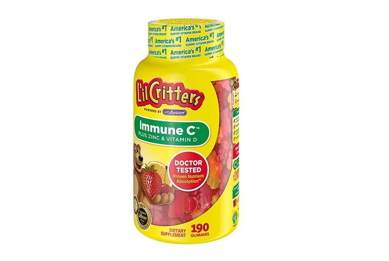 L'il Critters Immune C là giải pháp giúp cải thiện thiếu hụt Vitamin C