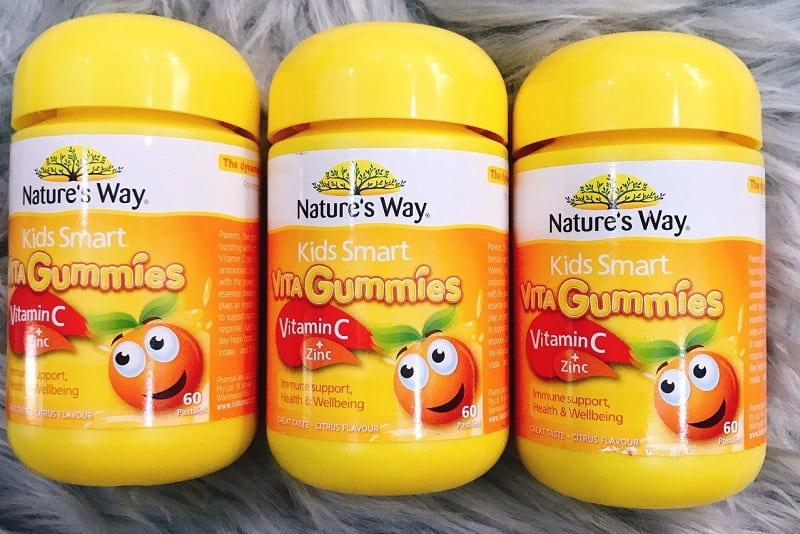 Kids Smart Vitamin C+Zinc 60 Gummies