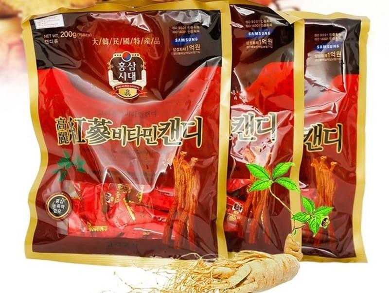 Kẹo sâm vitamin Hàn Quốc là một trong những loại kẹo sâm Hàn Quốc tốt cho sức khỏe được yêu thích nhất