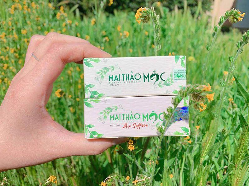 Hai loại serum Mai Thảo Mộc đang phân phối trên thị trường