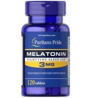 Viên uống Melatonin 3mg Puritan's Pride hộp 120 viên