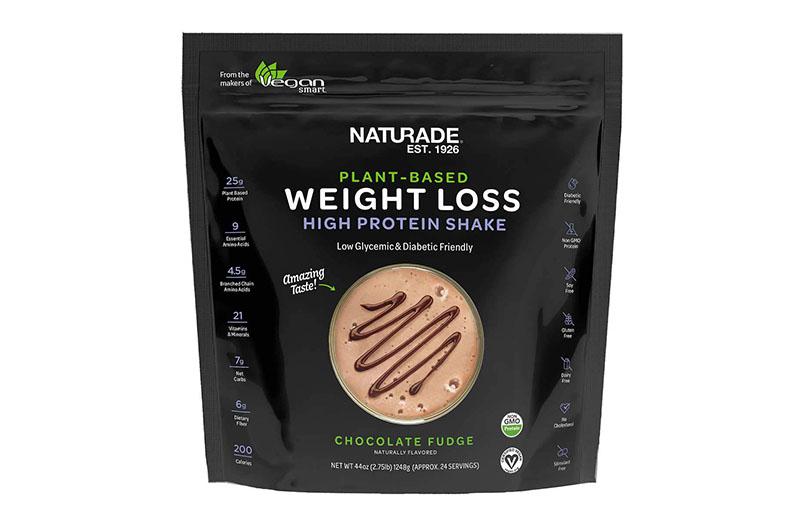 Naturade Plant-Based Weight Loss High Protein Shake cung cấp protein thực vật lành tính