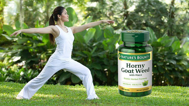 Bao bì sản phẩm hỗ trợ sinh lý nam giới Horny Goat Weed