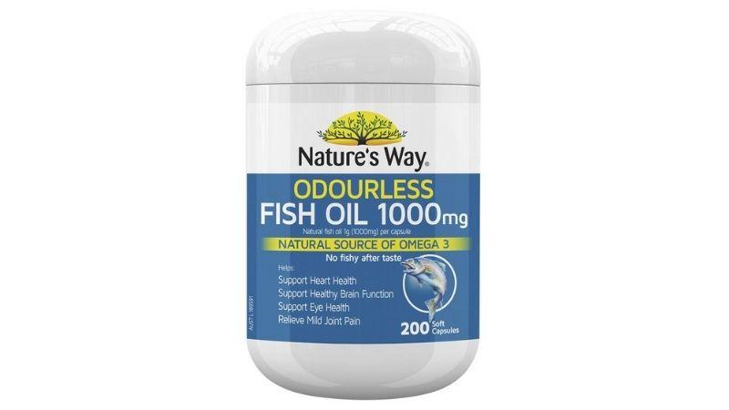 Nature's Way Fish Oil 1000mg 200 viên