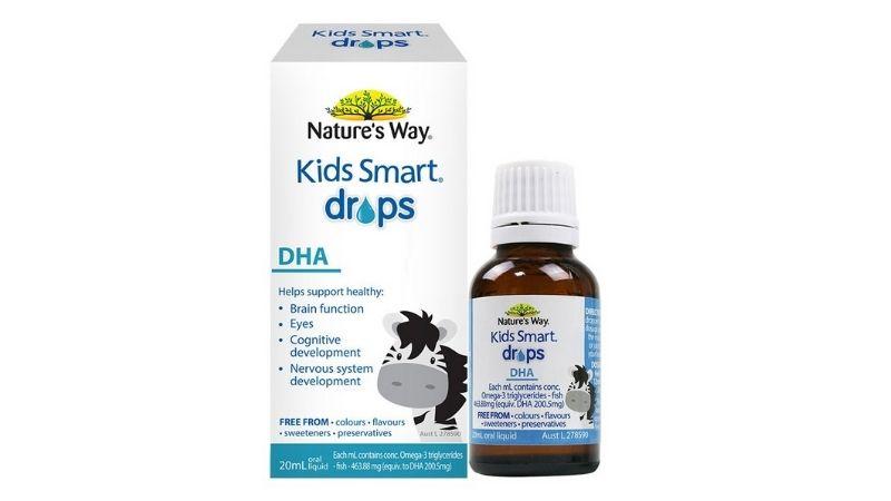 Nature's Way Kids Smart Drops DHA