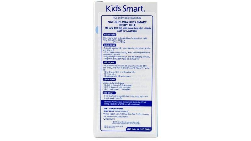 Thành phần của Kids Smart