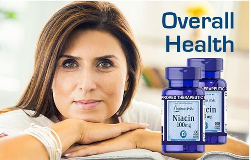 Viên uống Niacin 100mg sở hữu nhiều ưu điểm vượt trội