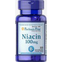Viên uống Niacin 100mg Puritan's Pride hộp 100 viên