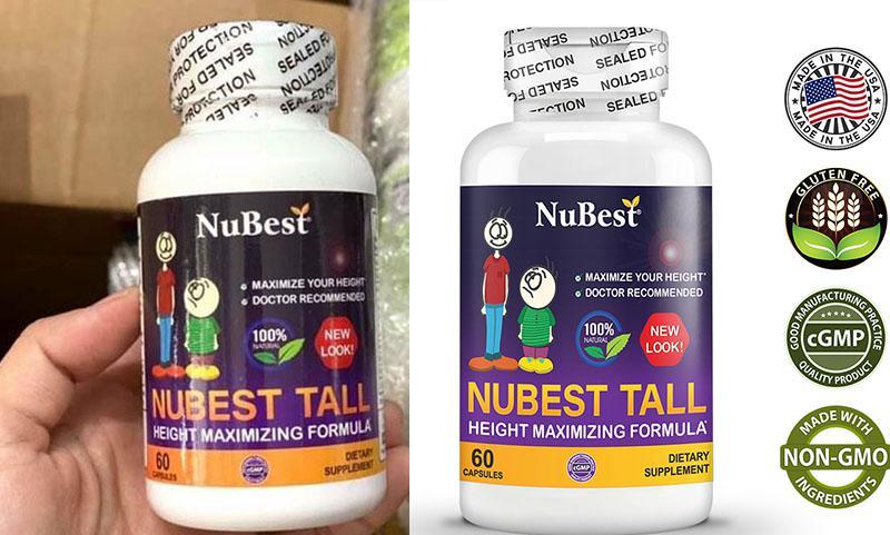 Viên uống Nubest tăng chiều cao có nhiều ưu điểm vượt trội