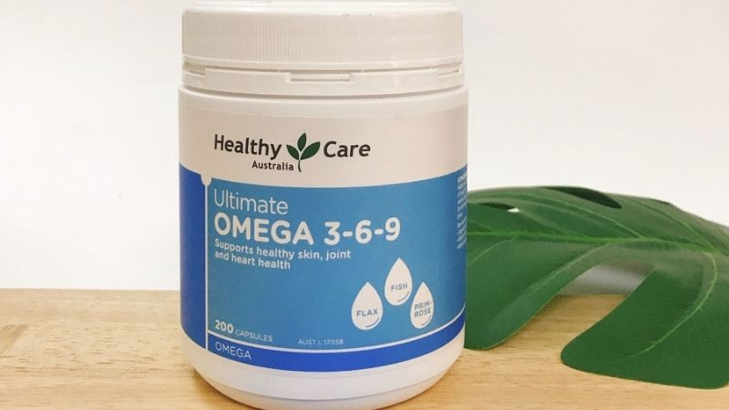 Công dụng của Omega 3-6-9 Healthy Care