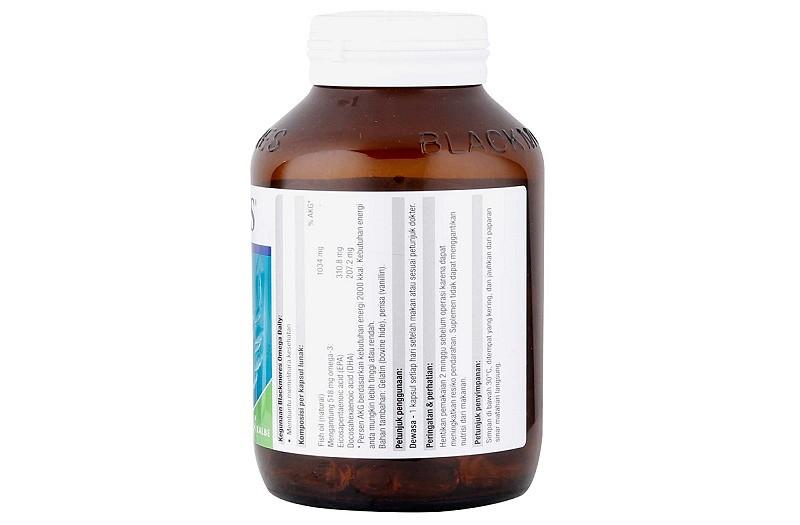 Viên uống có chứa thành phần chính là omega 3
