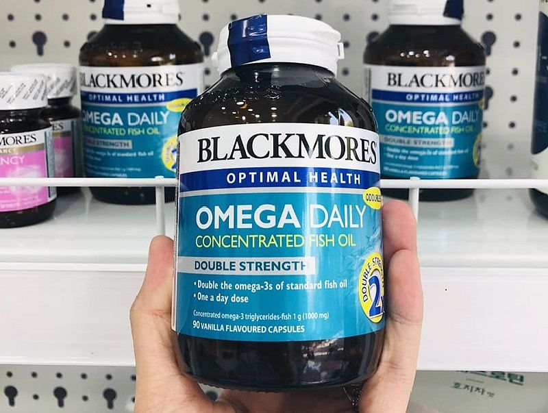 Viên uống Omega Daily Concentrated Fish Oil