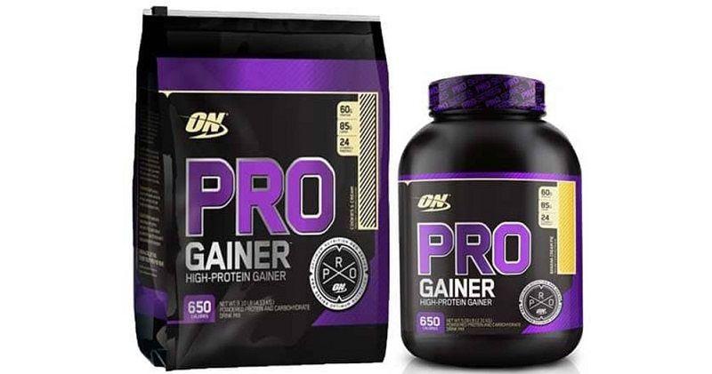 Sữa tăng cân tăng cơ nạc On Pro Gainer là thức uống bổ sung năng lượng
