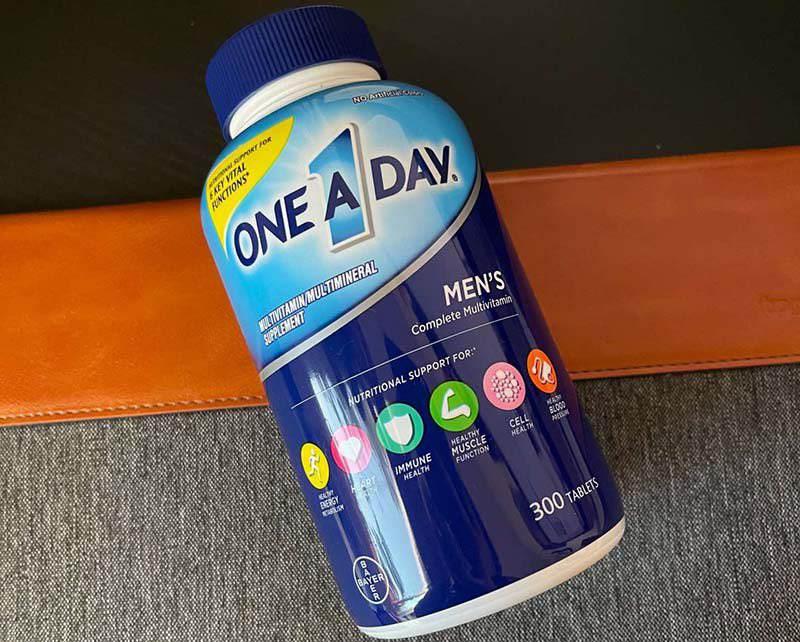 One a day Men's được bào chế dưới dạng viên nang, tạo thuận tiện cho quá trình sử dụng