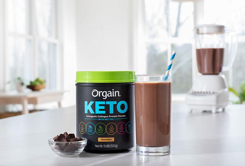 Orgain Keto Collagen Protein là sản phẩm ăn liền được nhiều người ưa chuộng