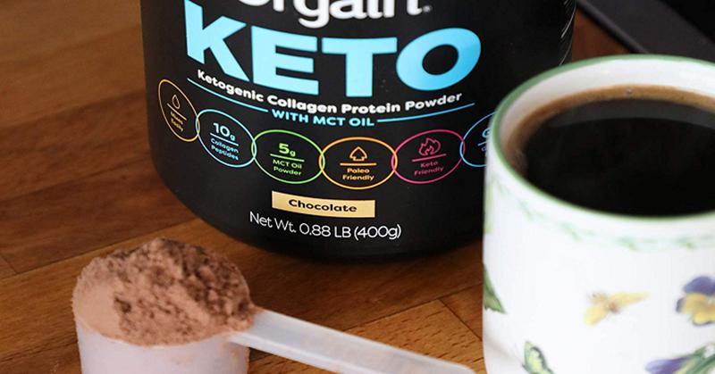 Orgain Keto Collagen Protein thân thiện với người sử dụng