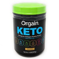 Bột hữu cơ uống liền Orgain Keto Collagen Protein của Mỹ