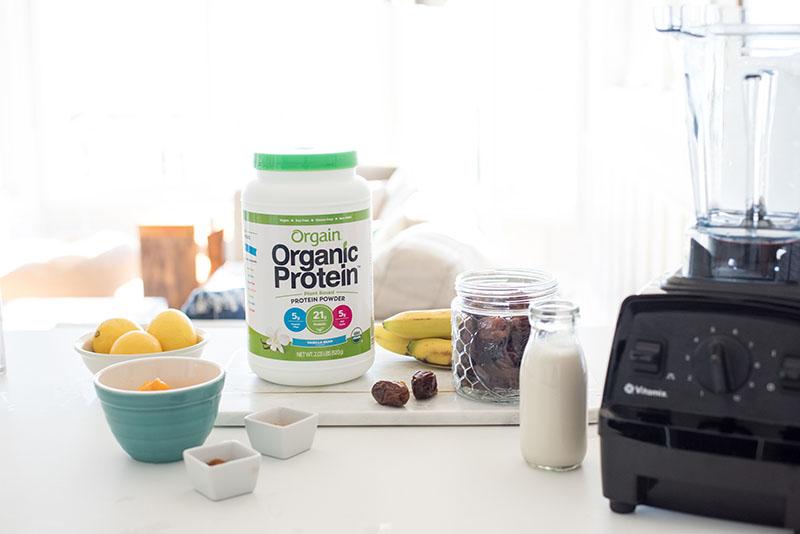 Bột Protein hữu cơ Orgain Simple Organic Protein Powder 912g vị socola bơ đậu phộng