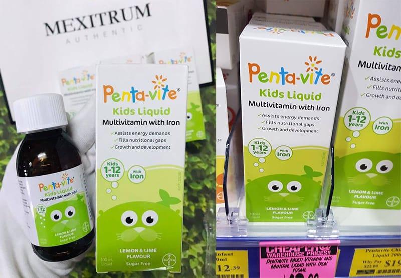 Pentavite Vitamin 100ml được chứng minh mang lại hiệu quả cao và an toàn với trẻ nhỏ