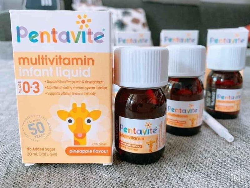 Pentavite Vitamin tổng hợp cho bé 30ml được nghiên cứu và phát triển tại Úc