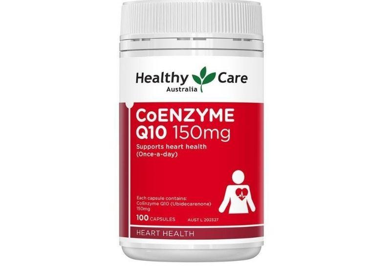 Sản phẩm Q10 Healthy Care bổ tim cho người cao tuổi