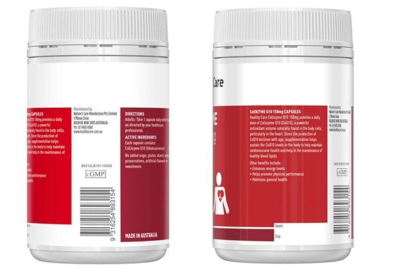 Thành phần dược chất an toàn và không chứa chất hóa học