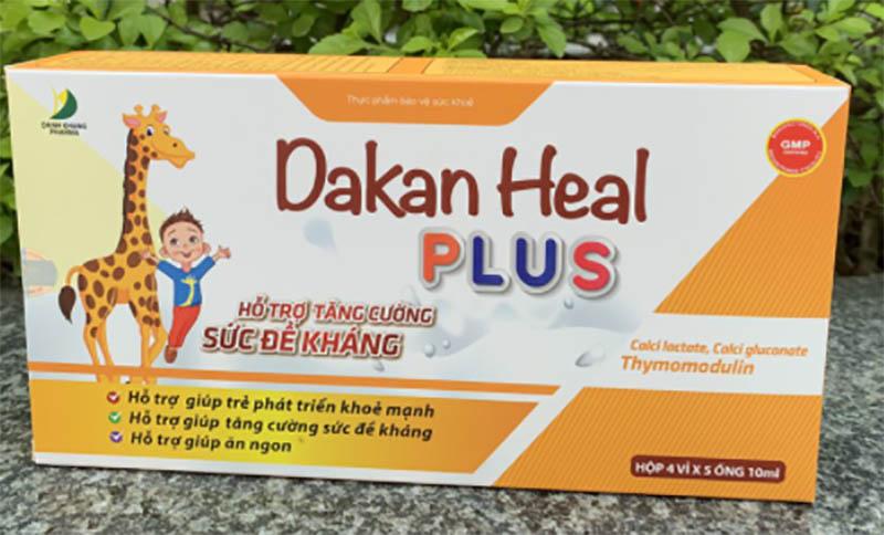 Siro Dakan cho bé ăn ngon