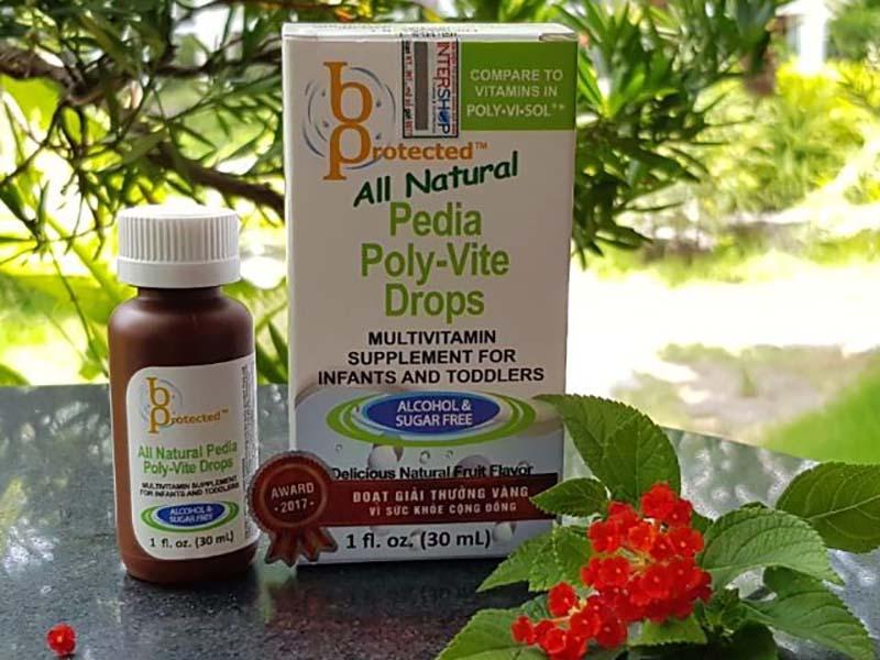 Vitamin tổng hợp Pedia Poly Vite Drops
