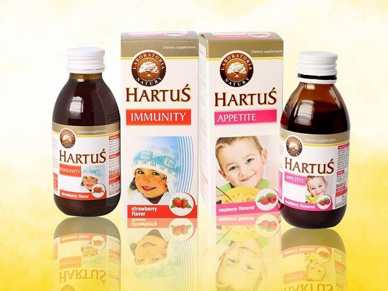 Siro cho trẻ Hartus Appetite
