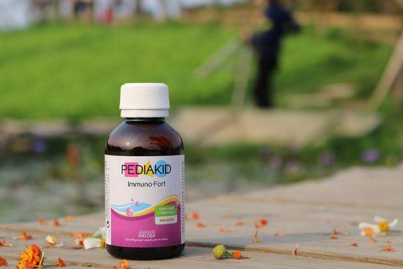 Pediakid Immuno Fortifiant là siro tăng sức đề kháng cho bé được làm 100% từ tự nhiên