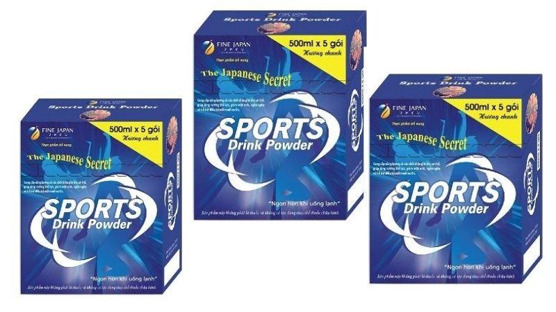 Ưu điểm của Sport Drink Powder