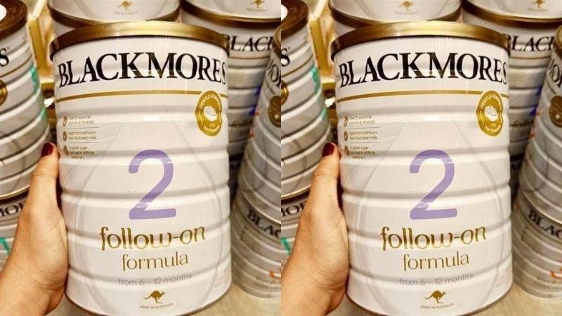 Ưu điểm của sữa Blackmores số 2