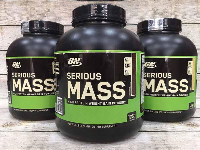 Sữa tăng cân cho người gầy Serious Mass 3LBS