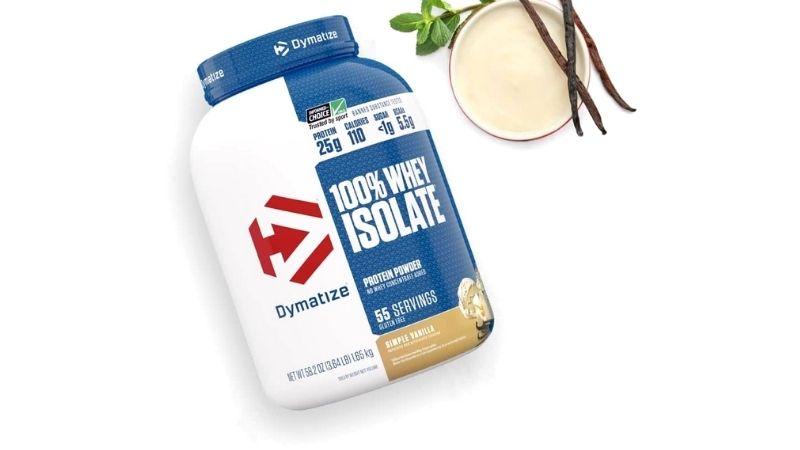 Sữa tăng cơ Dymatize 100% Whey Isolate Protein Powder 1.65kg