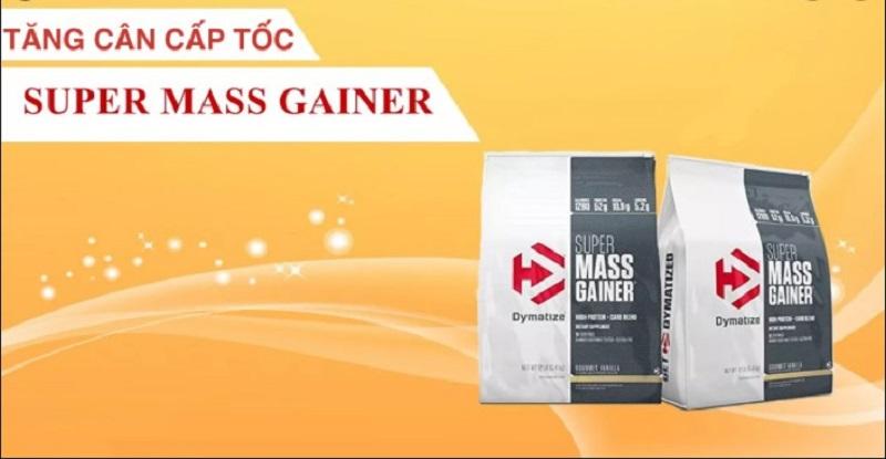 Dùng Super Mass Gainer đúng cách giúp tăng hiệu quả
