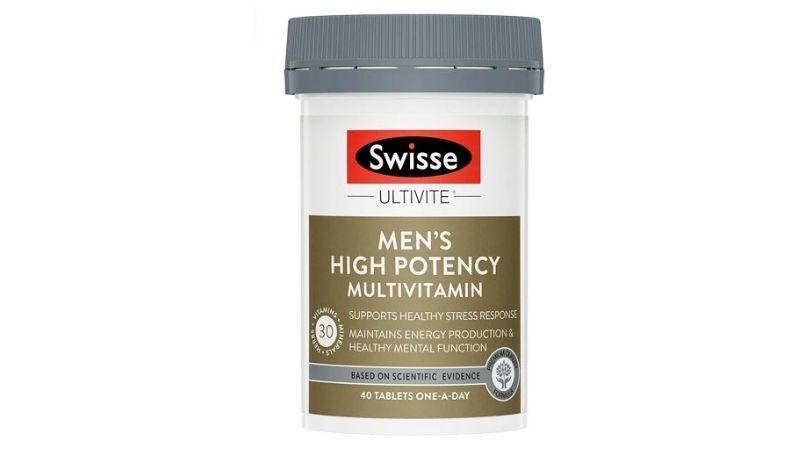 Viên uống Swisse Men's High Potency Multivitamin