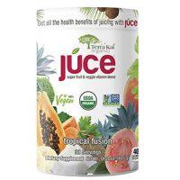 Bột trái cây và rau củ quả Terra Kai Organics Juce Tropical Fusion 405g