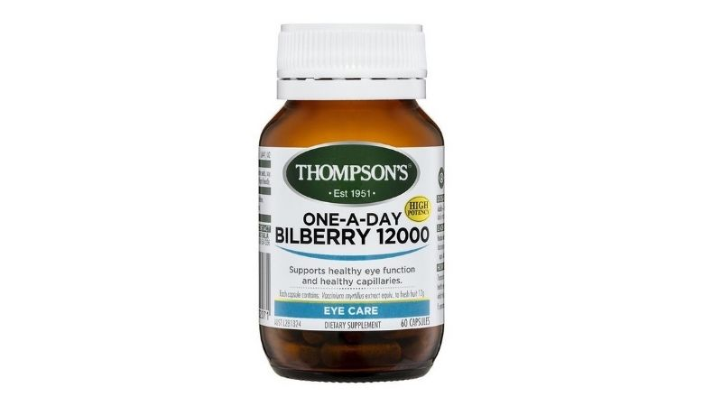 Thompson's One-A-Day Bilberry 12000mg
