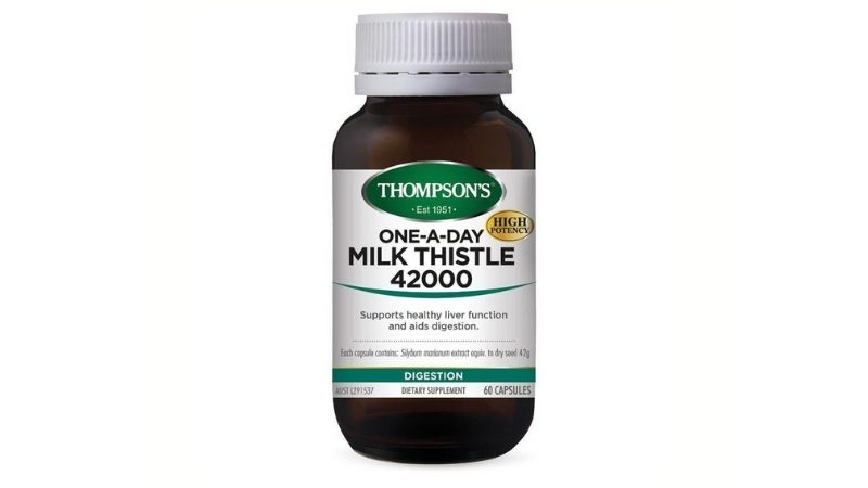 Thompson's One-a-day Milk Thistle 42000mg