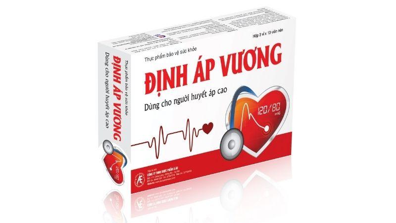 Định Áp Vương - Thực phẩm chức năng cho người cao huyết áp