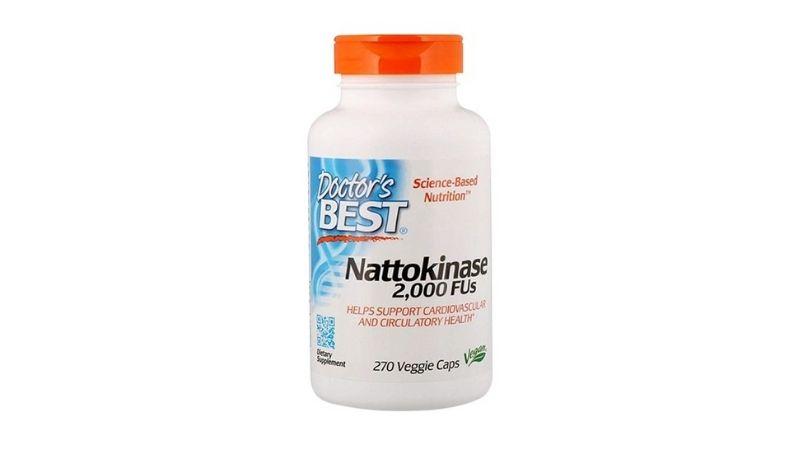 Doctor's Best Nattokinase ổn định huyết áp và tim mạch